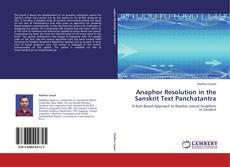 Buchcover von Anaphor Resolution in the Sanskrit Text Panchatantra