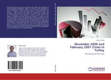 Bookcover of November 2000 and February 2001 Crises in Turkey