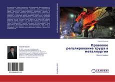 Copertina di Правовое регулирование труда в металлургии