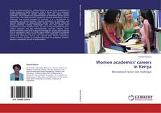 Couverture de Women academics' careers in Kenya