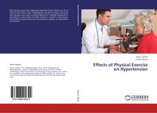Buchcover von Effects of Physical Exercise on Hypertension