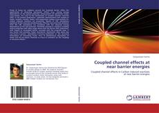 Capa do livro de Coupled channel effects at near barrier energies