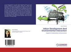 Capa do livro de Urban Development And Environmental  Interaction
