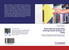 Educational Inequality among Social Groups in India kitap kapağı