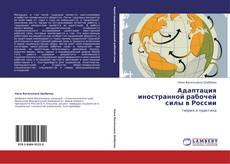 Capa do livro de Адаптация иностранной рабочей силы в России