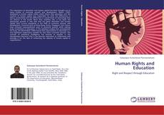 Bookcover of Human Rights and Education