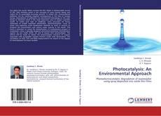 Bookcover of Photocatalysis: An Environmental Approach