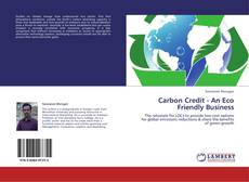 Bookcover of Carbon Credit - An Eco Friendly Business