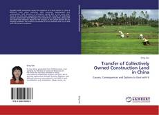 Bookcover of Transfer of Collectively Owned Construction Land in China