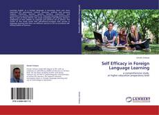 Buchcover von Self Efficacy in Foreign Language Learning