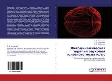 Обложка Фотодинамическая терапия опухолей головного мозга крыс