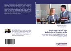 Обложка Manage Finance & Administrative Records