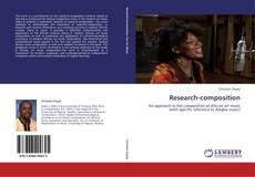 Couverture de Research-composition