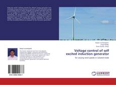 Bookcover of Voltage control of self excited induction generator