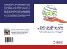 Bookcover of Motivational Strategy for Distance Education Teachers