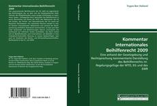 Capa do livro de Kommentar Internationales Beihilfenrecht 2009