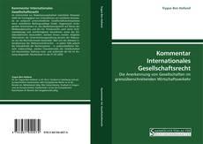 Kommentar Internationales Gesellschaftsrecht kitap kapağı
