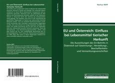Обложка EU und Österreich: Einfluss bei Lebensmittel tierischer Herkunft