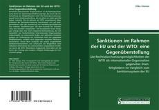 Capa do livro de Sanktionen im Rahmen der EU und der WTO: eine Gegenüberstellung