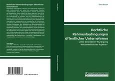 Buchcover von Rechtliche Rahmenbedingungen öffentlicher Unternehmen