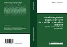 Buchcover von Besicherungen von Liegenschaften im österreichisch-deutschen Vergleich