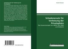 Buchcover von Schadenersatz für Verletzung der Privatsphäre