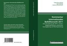 Capa do livro de Kommentar Internationales Beihilfenrecht 2011
