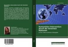 Capa do livro de Humanitäre Intervention durch die Vereinten Nationen