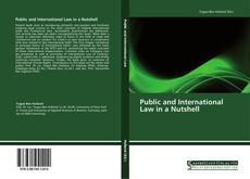 Bookcover of Public and International Law in a Nutshell