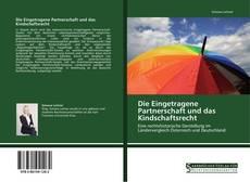 Die Eingetragene Partnerschaft und das Kindschaftsrecht kitap kapağı