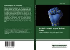 Capa do livro de EU-Missionen in der Sahel-Zone