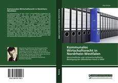 Bookcover of Kommunales Wirtschaftsrecht in Nordrhein-Westfalen
