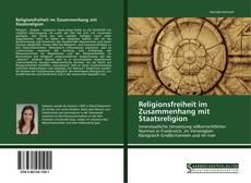 Capa do livro de Religionsfreiheit im Zusammenhang mit Staatsreligion