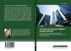 "Capa do livro de ""Corporate Human Rights Responsibility"""