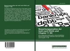 Bookcover of Bewertungsansätze der InsO nach ESUG und Chapter 11 BC