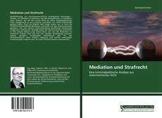 Buchcover von Mediation und Strafrecht