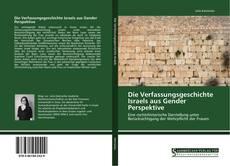 Bookcover of Die Verfassungsgeschichte Israels aus Gender Perspektive