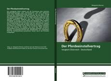 Der Pferdeeinstellvertrag的封面