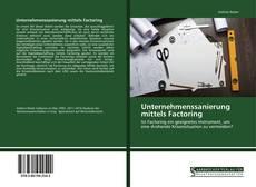 Buchcover von Unternehmenssanierung mittels Factoring