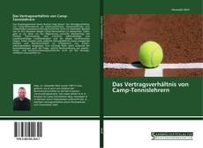 Capa do livro de Das Vertragsverhältnis von Camp-Tennislehrern
