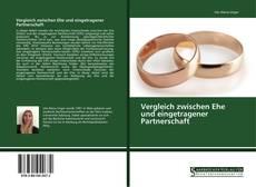 Bookcover of Vergleich zwischen Ehe und eingetragener Partnerschaft