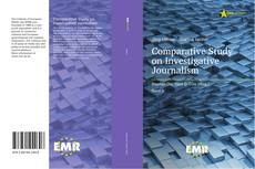 Buchcover von Comparative Study on Investigative Journalism