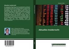 Aktuelles Insiderrecht的封面