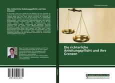 Bookcover of Die richterliche Anleitungspflicht und ihre Grenzen