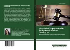 Capa do livro de Staatliche Tatprovokation im österreichischen Strafrecht
