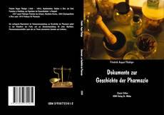 Bookcover of Dokumente zur Geschichte der Pharmazie