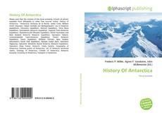 History Of Antarctica的封面