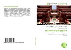 Bookcover of History of Singapore