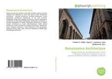 Bookcover of Renaissance Architecture