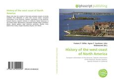 Bookcover of History of the west coast of North America